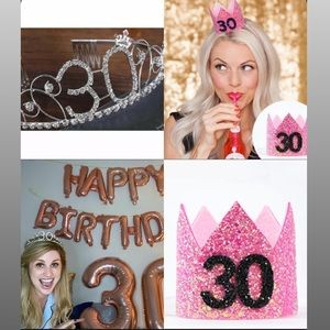 30th Birthday Crown Bundle